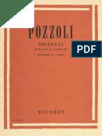 Ettore Pozzoli - Solfeggi Parlati E Cantati Appendice Al I Corso