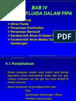 Bab 04 Aliran Fluida Dalam Pipa (1)