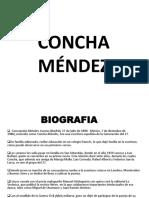 Concha Méndez