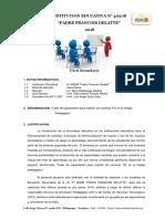 Plan de Capacitación AIP 2018 - I.E. 40208 Padre Francois Delatte