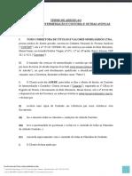 Contrato de Intermediação e Custódia