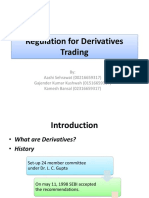 EDMO Ppt Regulation for Derivatives Trading