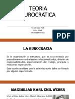 TEORIA BUROCRATICA 2