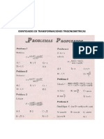 Banco Identidades de Transformaciones Trigonometricas