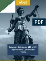 Súmulas Criminais STF e STJ Organizadas e Comentadas (2018).pdf