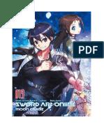 Sword Art Online Volume 19 - Moon Cradle