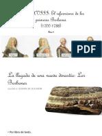 Tema 4. El Siglo XVIII en España. El Reformismo de Los Primeros Borbones. Curso 2018-2019