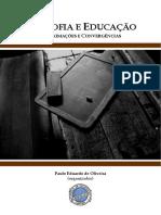 Filosofia e Educação Aprocimações e Convergências