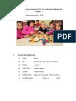 Plan de Mejora de Loso Aprendizajes