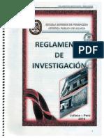 REGL. DE INVESTIGACIÓN 2016-ESFAPJULIACA PDF