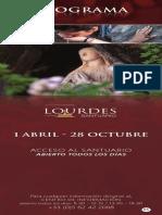 Horaires Lourdes