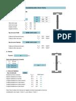 Diseño y Cálculo de Conexión Soldada perfil Ipe