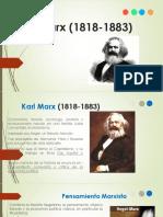 Karl Marx (1818-1883). (1)