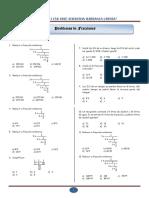 Problemas Propuestos de Fracciones I Ccesa007