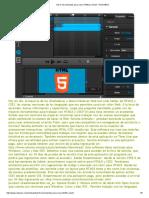 Top 5_ Herramientas Para Crear HTML5 y CSS3 - RedUSERS