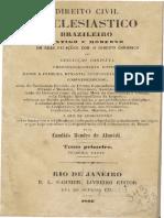 07 Cândido Mendes de Almeida - Direito Civil Eclesiástica - Cap X