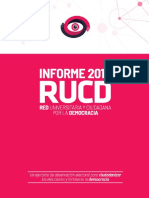 Informe final de la Red Universitaria y Ciudadana por la Democracia (RUCD)