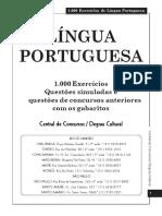 1000 Exercicios_LPortuguesa (algumas questões ortografia antiga).pdf