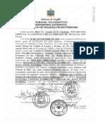 Sentencia de Nulidad Matrimonial de Dulmar Vásquez y Nelgar Pinto