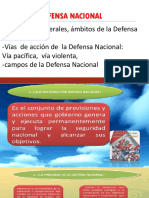3. Defensa Nacional