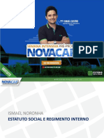 Estatuto Regimento Novacap