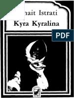 Panait Istrati. Kyra Kyralina