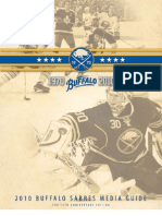 2010-2011 Buffalo Sabres Media Guide