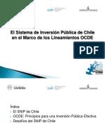 3 El Sistema de Inversion Publica de Chile en El Marco de Los Lineamientos OCDE Fernando Cartes