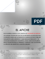 AFICHE (8° básico)