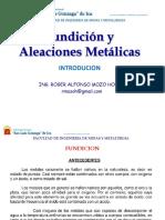 Fundicion y Aleaciones Metalúrgicas