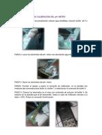 Procedimientos Final Operaciones
