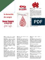 Los Mitos Más Comunes en La Donación de Sangre