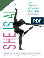 Bermuda Festival Programme October 9 2018
