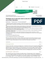 Estrategias Para Reduccion El Riesgo de Desastres en Español