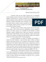GONÇALVES, Marcelo. Os Índios e a Colonização de Goiás