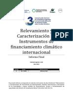 Instrumentos Financieros Para El Cambio Climático - Relevamiento Internacional(1)