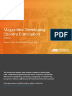 Mega Cities Extract