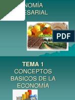 322988465 Economia Empresarial Tema 1 Conceptos Basicos de La Economia 1