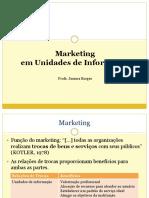Marketing Em Unidades de Informação
