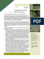 DVRP Newsletter Resilience Vol. 1 Issue 1
