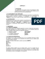Protocolo Proyecto de Investigación Capitulos I y II