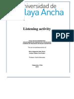 Listening Activity Final