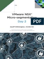 Vmware Micro Segmentation Day 2