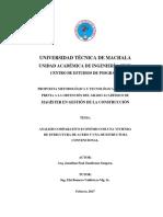 Análisis comparativo Económico de una Vivienda de Estructura de Acero y una de Estructura Convencional.pdf