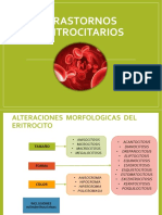 trastornos eritrociticos