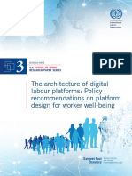 The Architecture of Digital Labour Platforms