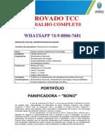 """PORTFÓLIO PLANEJAMENTO ESTRATÉGICO PANIFICADORAS """"BONO"""".pdf"""