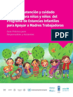 ESTANCIAS INFANTILES