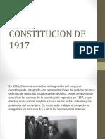 Constitución de 1917 Seguridad Social