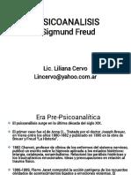 PSICOANALISIS - Sigmud Freud - Resumen Dra.Liliana Cervo